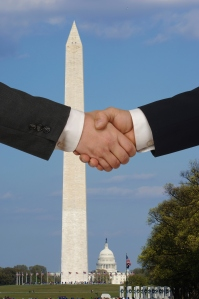 handshake in washintgon DC