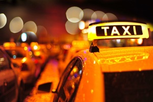 bokeh taxi sign resized smaller